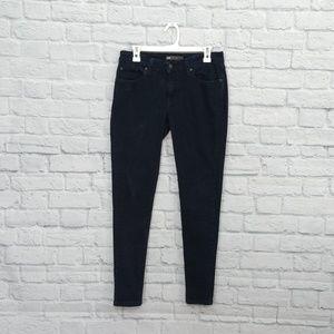 Levi | Dark Wash 535 Black Legging